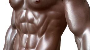 Efektowne męskie mięśnie