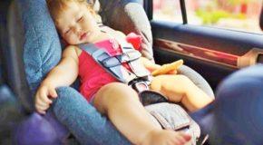 Jak ratować dziecko w przegrzanym samochodzie?